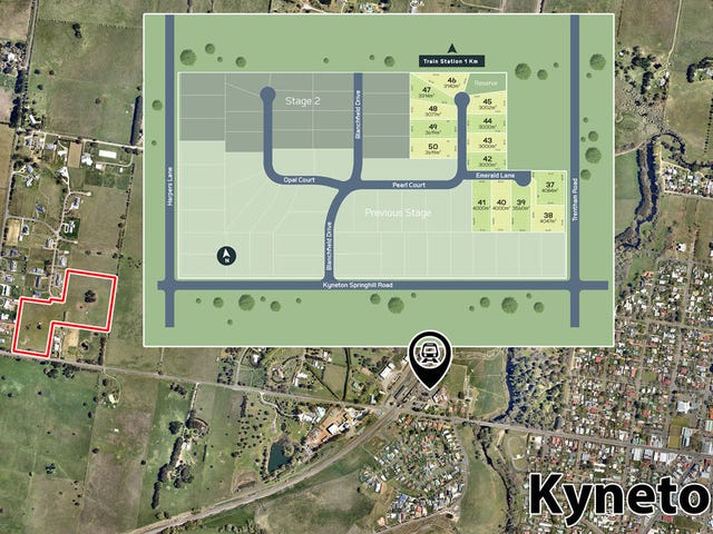 Lots 37-50 Tilwinda Estate, Kyneton, Vic 3444