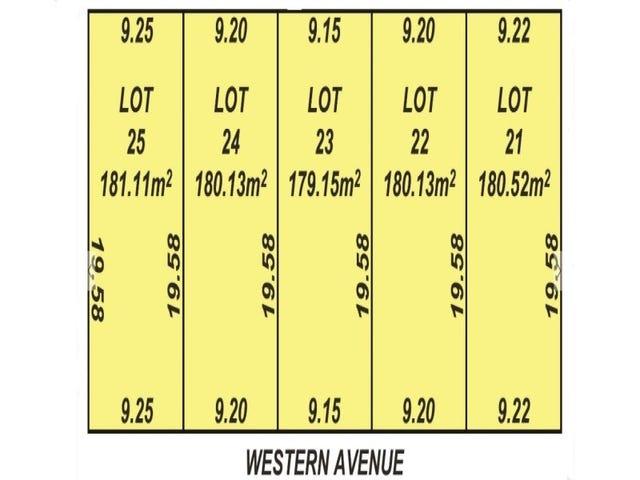 Lot 21 - 25, Western Avenue, Park Holme, SA 5043