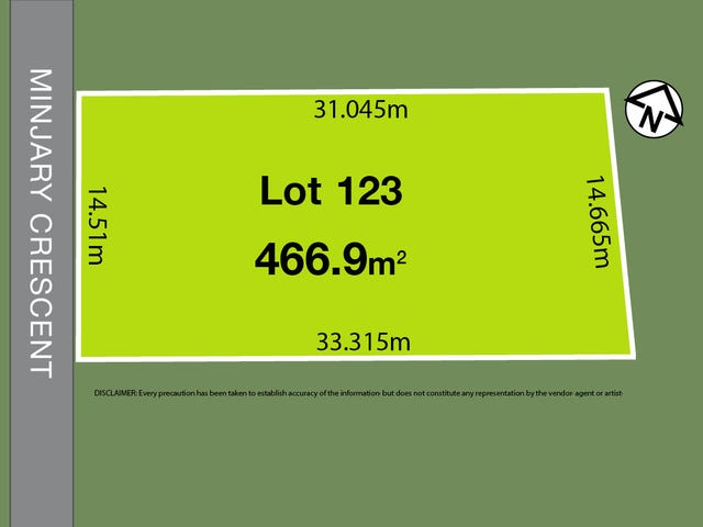 Lot 123, Minjary Crescent, Kellyville, NSW 2155