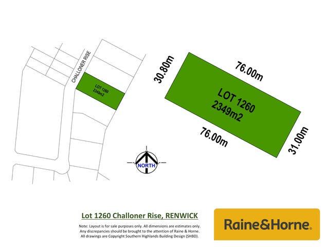 Lot 1260 Challoner Rise, Renwick, NSW 2575