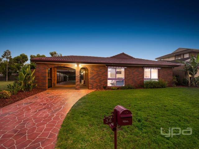 34 Angourie Crescent, Taylors Lakes, Vic 3038