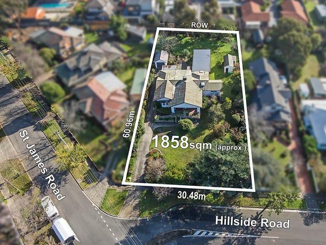1 Hillside Road, Rosanna, Vic 3084
