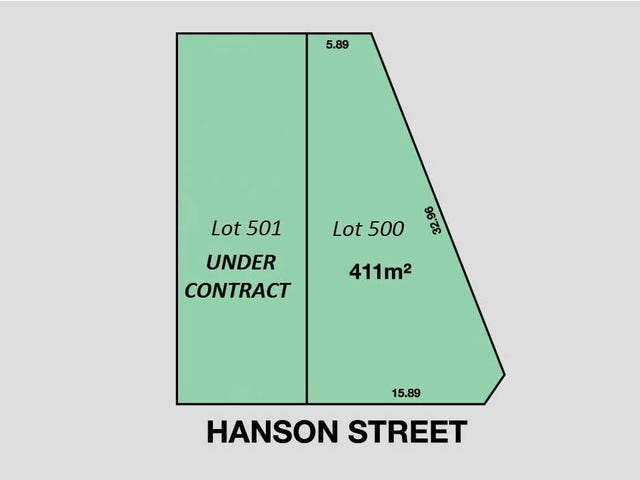 Lot 500, 25  Hanson Street, Semaphore, SA 5019