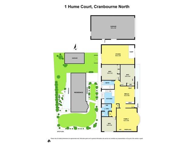 1 HUME COURT, Cranbourne North, Vic 3977