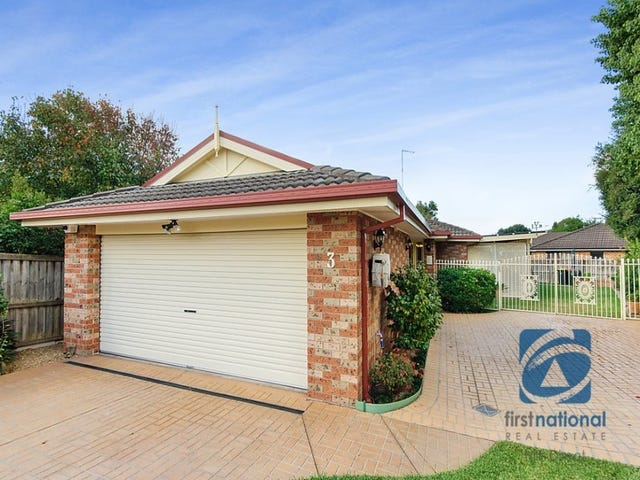3 Benbow Close, Stanhope Gardens, NSW 2768