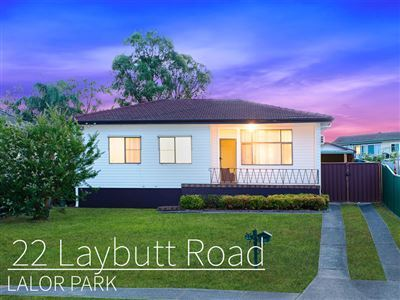 22 Laybutt Road, Lalor Park, NSW 2147