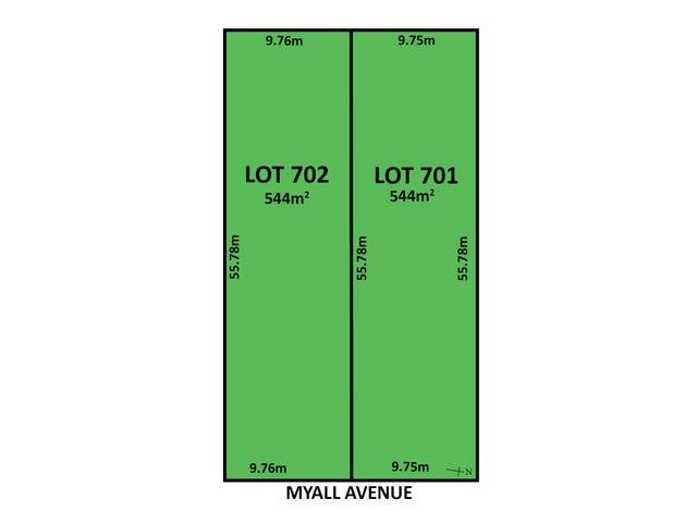 Lot 701 & 702, 59 Myall Avenue, Erindale, SA 5066