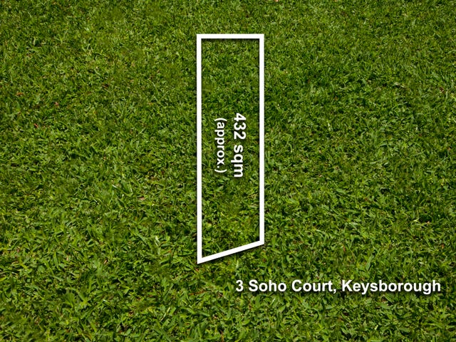 3, 5 & 7 Soho Court, Keysborough, Vic 3173