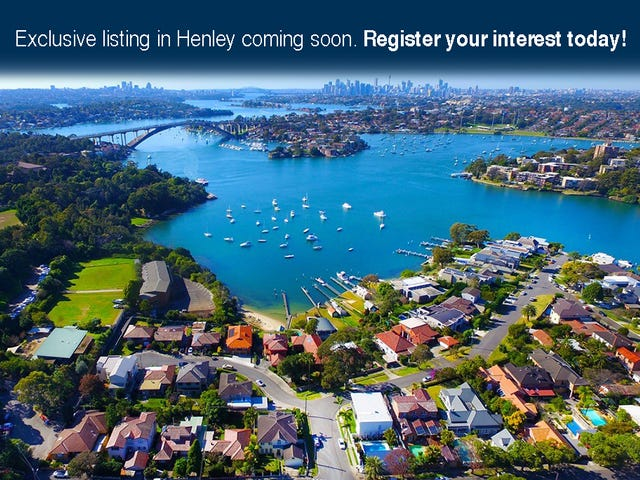 Henley, address available on request