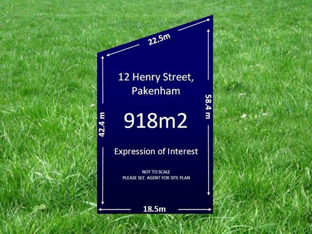 12 Henry Street, Pakenham, Vic 3810