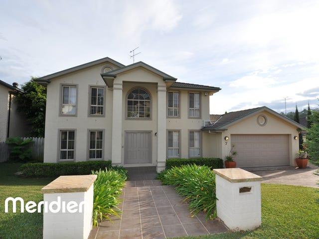 7 Mayfair Ave, Kellyville, NSW 2155