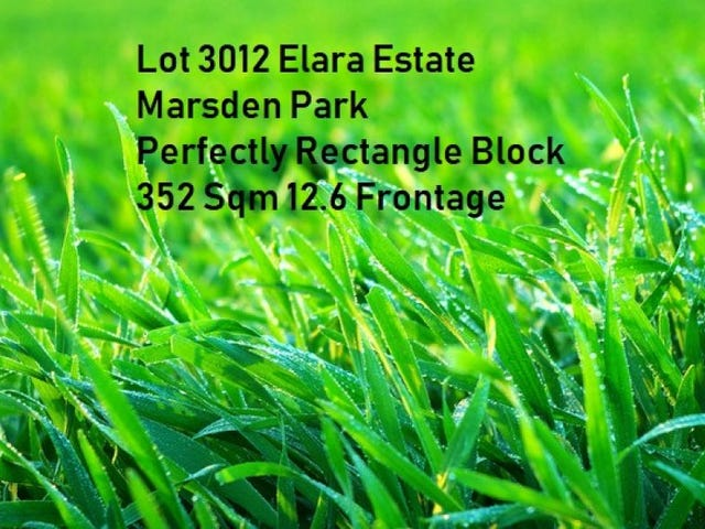 Lot 3012 Proposed Road, Marsden Park, NSW 2765