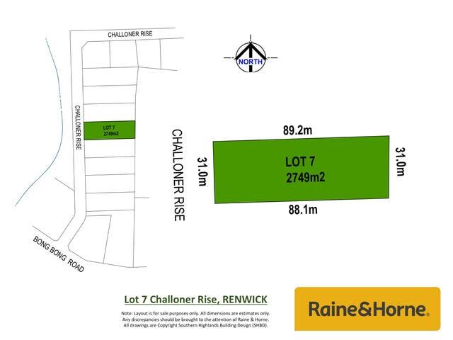 Lot 7 Challoner Rise, Renwick, NSW 2575