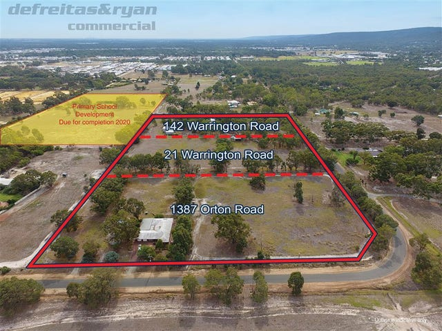 Lot 21 & 142 Warrington Road, Byford, WA 6122