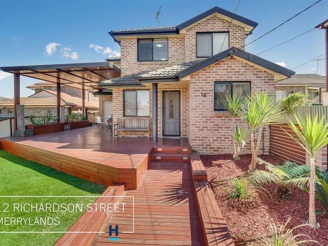 12 Richardson Street, Merrylands, NSW 2160
