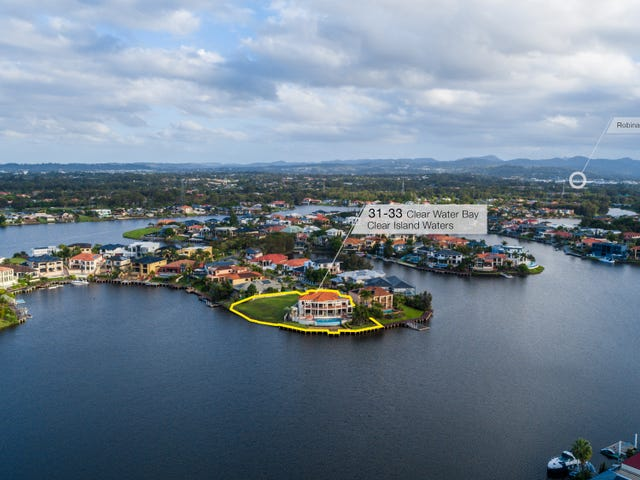31-33 Clear Water Bay Avenue, Clear Island Waters, Qld 4226
