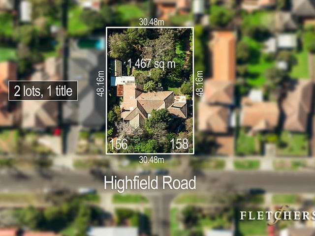 156-158 Highfield Road, Camberwell, Vic 3124