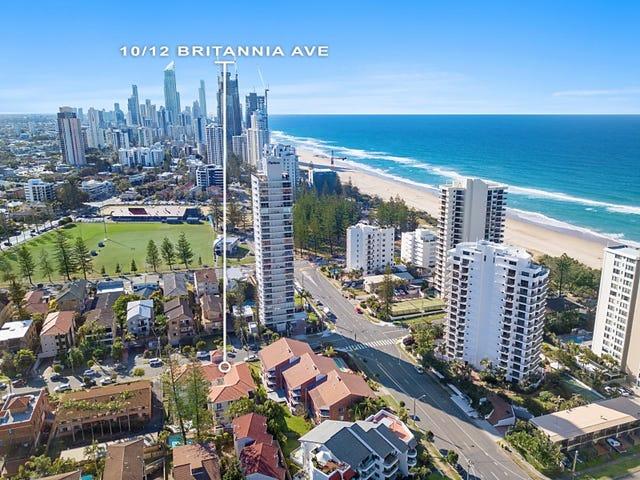 10/12-14 'Britannia Surf' Britannia Avenue, Broadbeach, Qld 4218