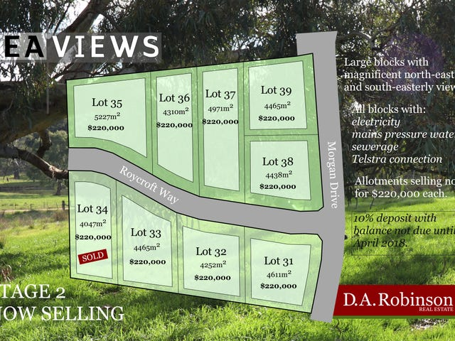 Lot 31 to 39, 52 Lawrances Road, Yea, Vic 3717