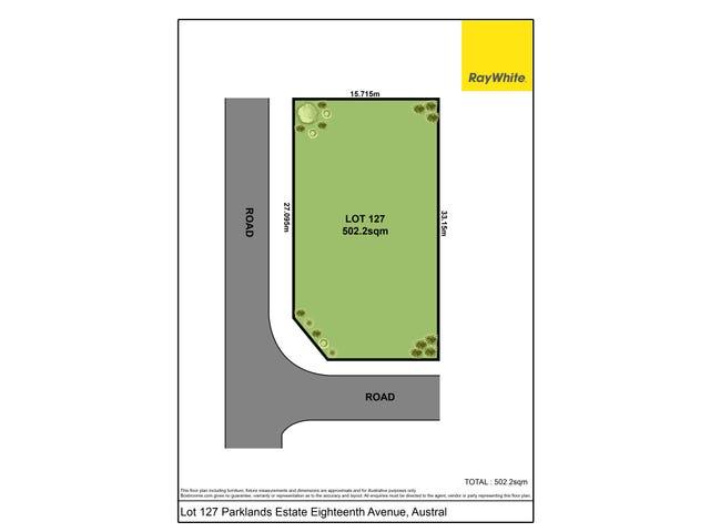 Lot 127 Parklands Estate Eighteenth Avenue, Austral, NSW 2179