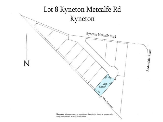 Lot 8 1648 Kyneton Metcalfe Road, Kyneton, Vic 3444