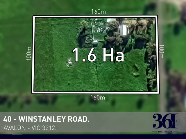 Lot 1,40 WINSTANLEY ROAD, Avalon, Vic 3212