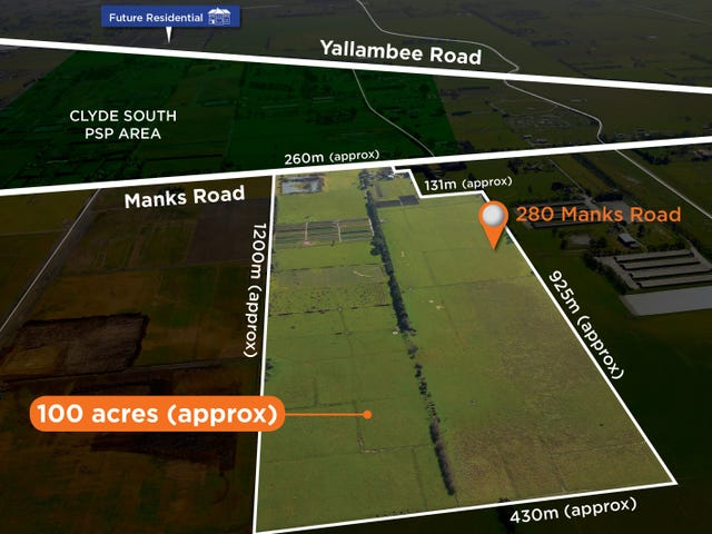 280 Manks Road, Clyde, Vic 3978
