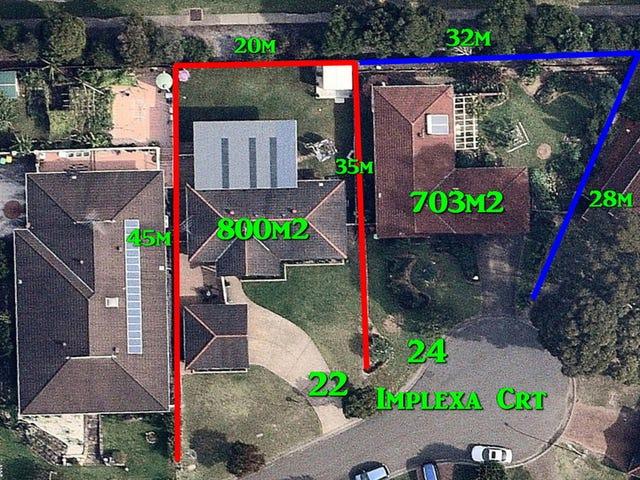 22 & 24 Implexa Court, Wattle Grove, NSW 2173