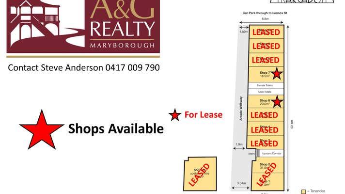Sunstate Arcade, 224 Adelaide Street Maryborough QLD 4650 - Image 1