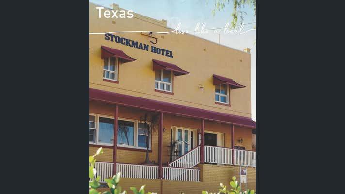 Stockman Hotel, 3 High Street Texas QLD 4385 - Image 2