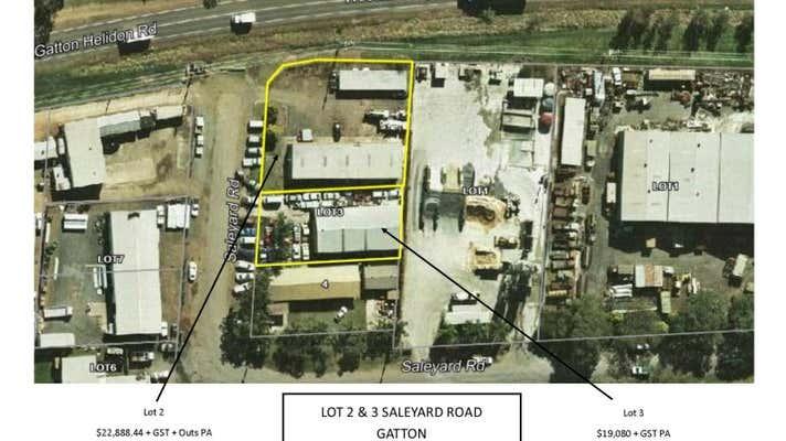 Lot 2 and 3 Saleyard Road Gatton QLD 4343 - Image 1