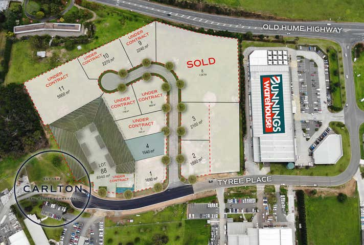 TYREE BUSINESS PARK, Lot 4, Tyree Place Braemar NSW 2575 - Image 1