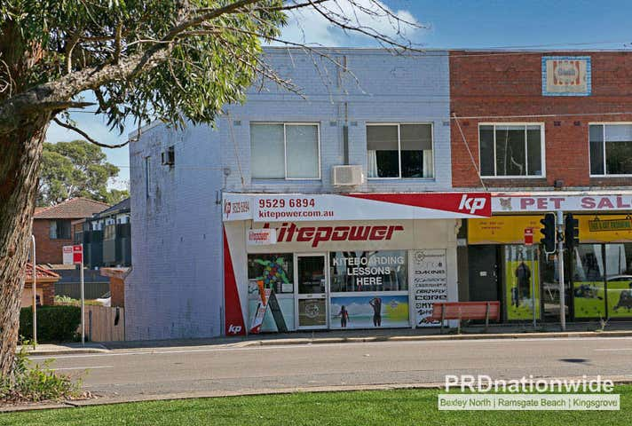 SOLD PRIOR TO AUCTION BY MARK SAWYER 0430 278 686 - COMMERCIAL SHOP & FLAT , 302  The Grand Parade Sans Souci NSW 2219 - Image 1