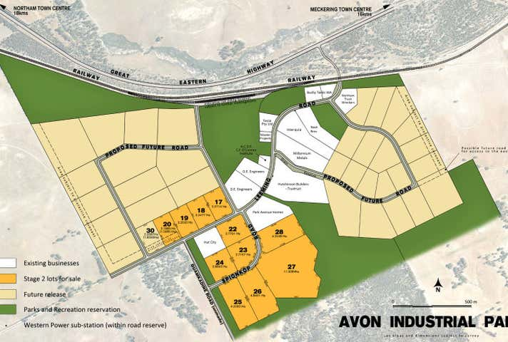 Avon Industrial Park, Lot 27 Spionkop Road, Northam, WA 6401