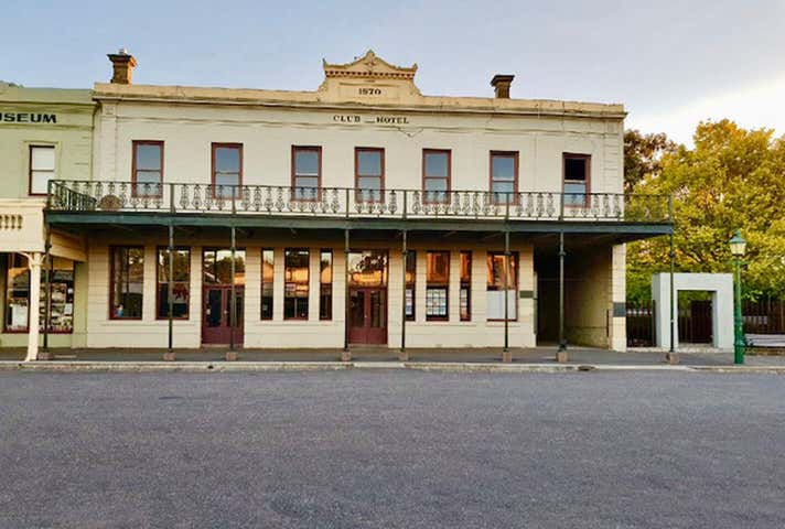 Club Hotel, 34 Fraser Street Clunes VIC 3370 - Image 1