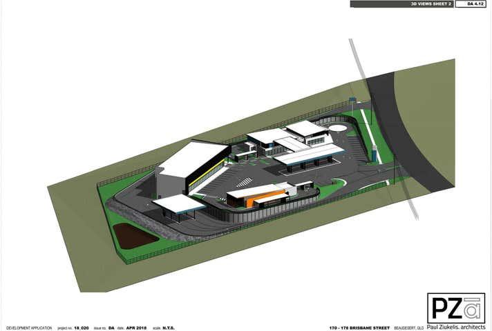 Beaudesert Service Centre, 170-178 Brisbane Street Beaudesert QLD 4285 - Image 1