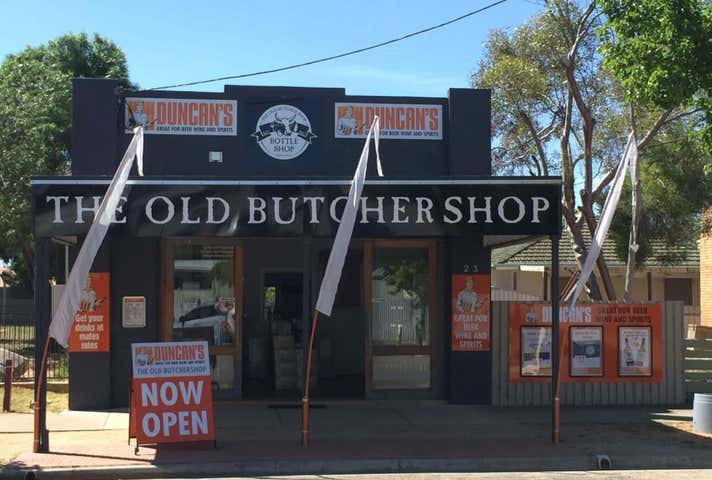 The Old Butcher Shop, 23 Morago street Moulamein NSW 2733 - Image 1