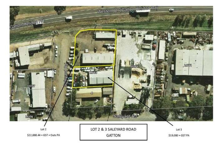 Lot 2 and 3 Saleyard Road Gatton QLD 4343 - Image 1