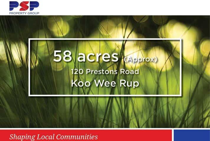 120 Prestons Road Koo Wee Rup VIC 3981 - Image 1