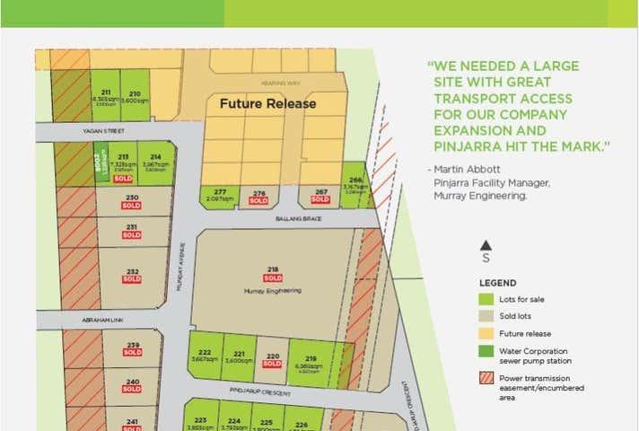 Lot 226 Pindjarup Crescent Pinjarra WA 6208 - Image 1