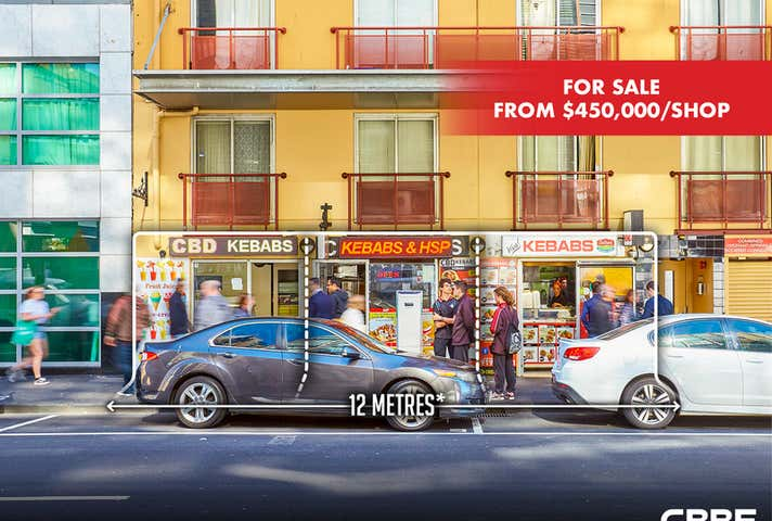 Shops 1, 2 & 3, 546-548 Flinders Street, Melbourne, Vic 3000