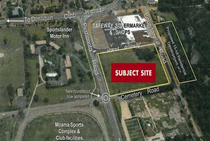 Cnr Perricoota Rd & Cemetary Road Moama NSW 2731 - Image 1