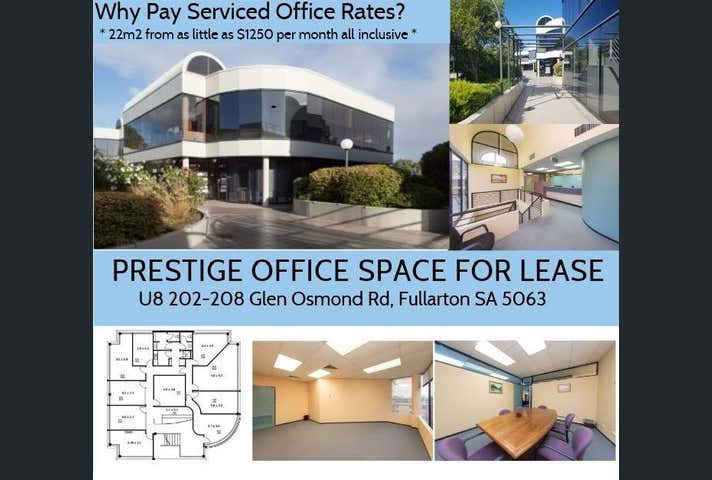 Unit 8/ 202-208 Glen Osmond Rd Fullarton SA 5063 - Image 1
