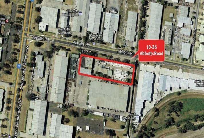 Yard area, 10-36 Abbotts Road Dandenong South VIC 3175 - Image 1