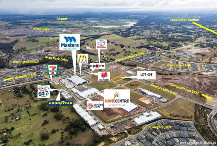 Central Hills Business Park, Lot 403, 650 Camden Valley Way, Gregory Hills, NSW 2557