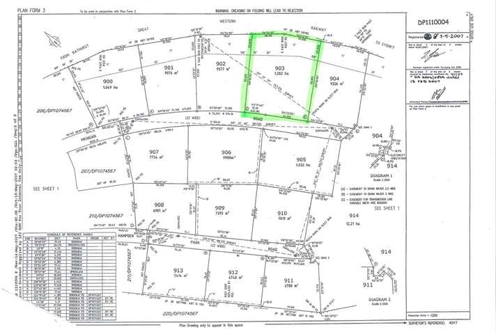 Lot 903 Michigan Road Bathurst NSW 2795 - Image 1