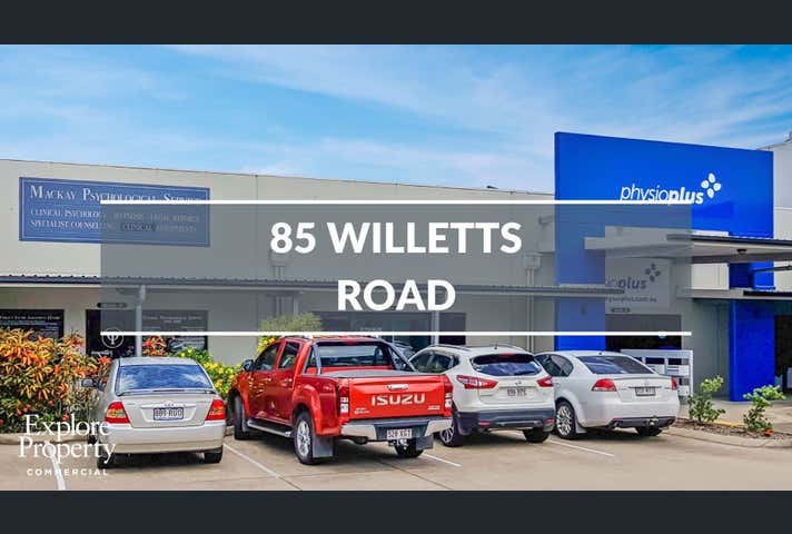 Willetts Centre, Suite 3 & 6, 87-91 Willetts Road Mackay QLD 4740 - Image 1