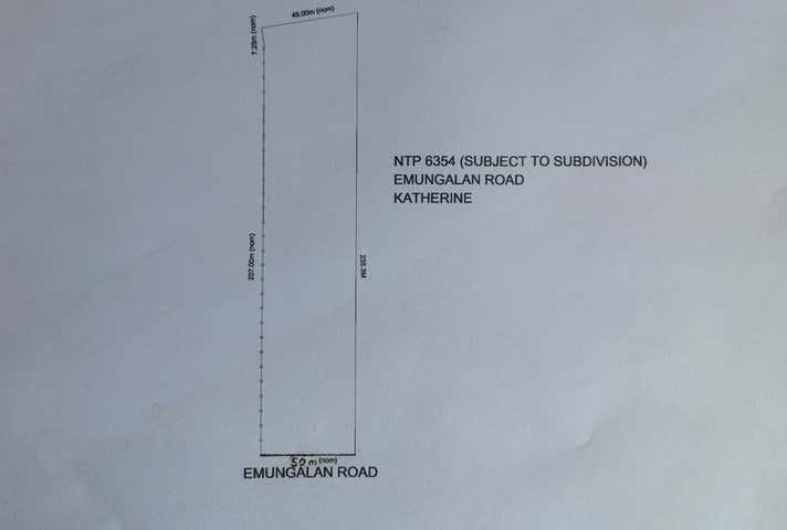 6354 Emungalan Road Katherine NT 0850 - Image 1