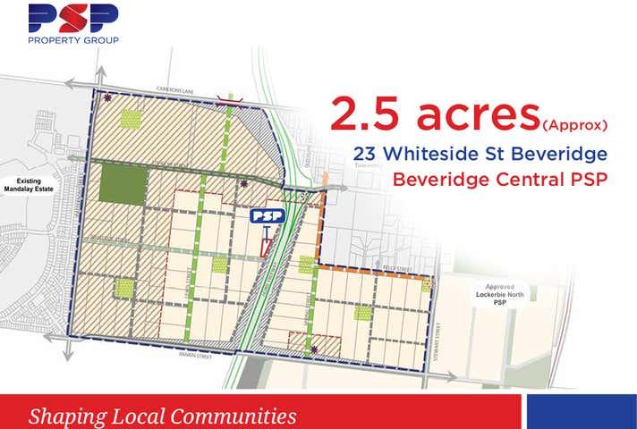23 WHITESIDE STREET Beveridge VIC 3753 - Image 1
