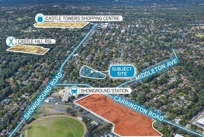 2-12 Sexton Avenue & 24-34 Fishburn Crescent, Castle Hill, NSW 2154